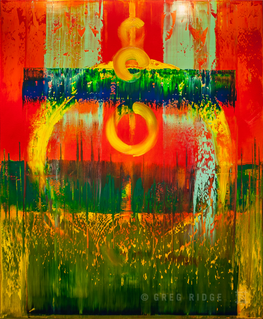 Abstract Composition 14
