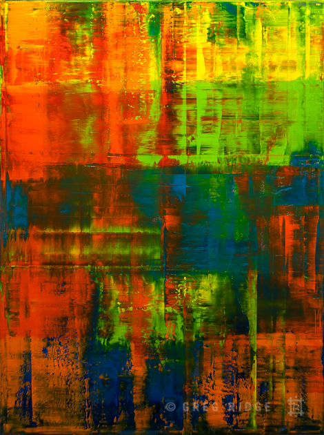 Abstract Composition 9